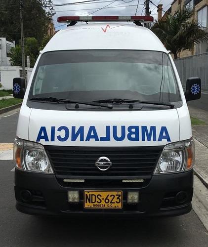 ambulancias otros nissan urvan