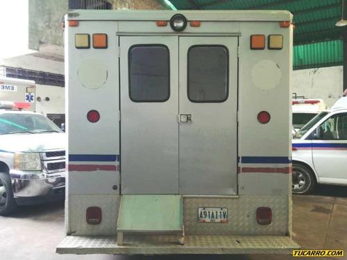ambulancias silverado - automatica