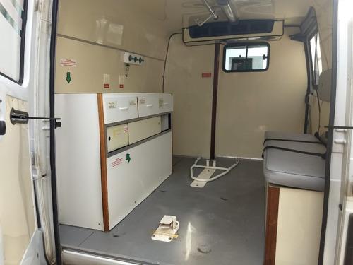 ambulância 2002 chevrolet trafic zero r$29.000,