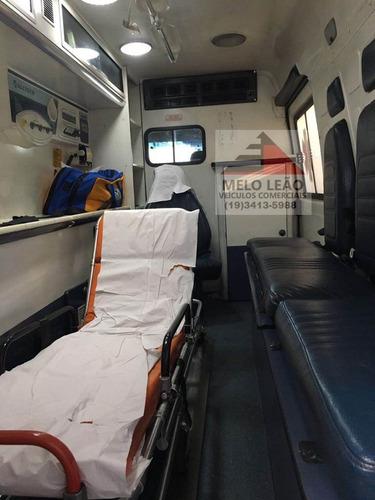 ambulância sprinter 311 uti - 08/09 - ar condicionado