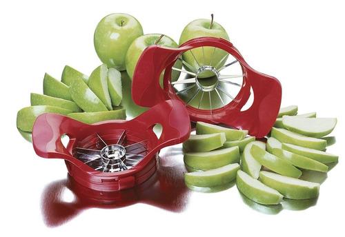 amco dial-a-slice ajustable apple corer y sli + envio gratis