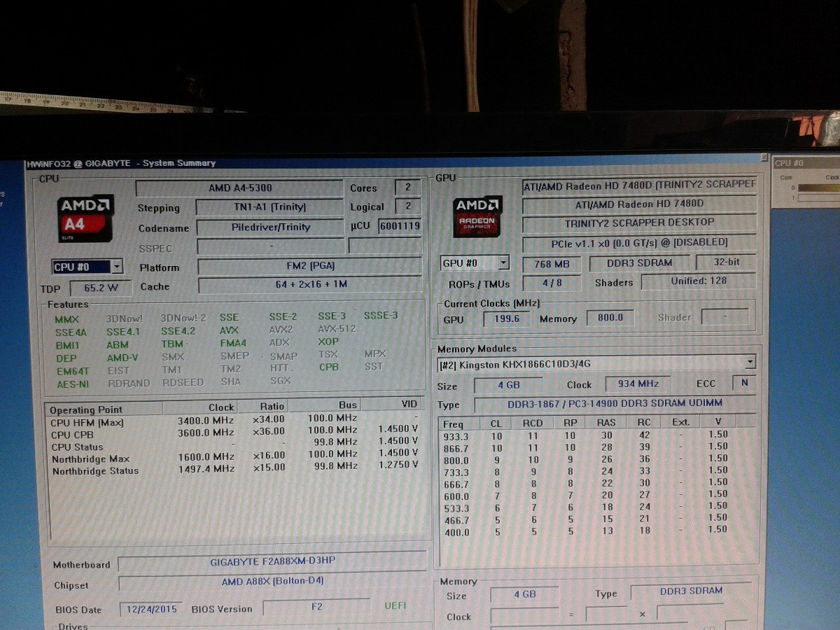 Amd A4 5300 1 Mb Socket Fm2 34500 En Mercado Libre Prosesor Trinity Cargando Zoom