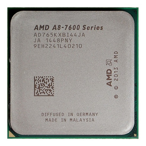 amd a8-series a8-7650k cpu fm2 + 3.3ghz cpu de cuatro