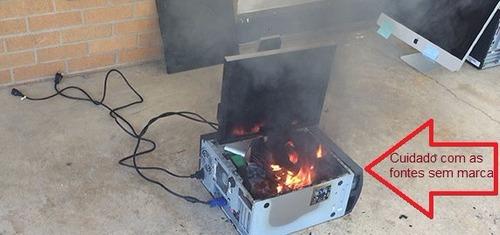 amd athlon 64 x2 5000b + fonte atx hp 250 watts reais