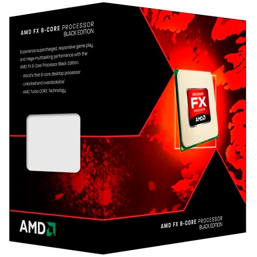 amd fx 8350 8 core black edition procesador am3+ tranza