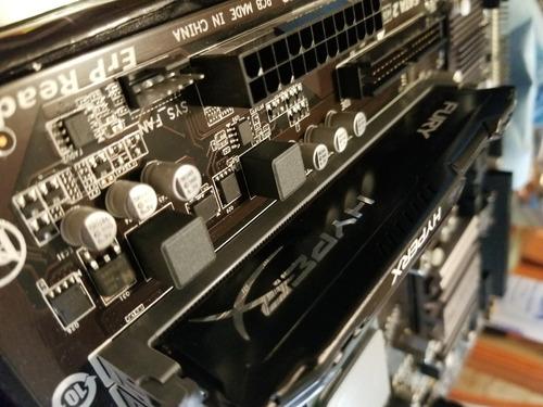 amd fx 8350 con hyper x 8gb 1600mhz ddr3 y tarjeta madre
