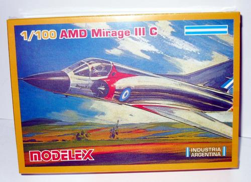 amd mirage iii c- 1/100 modelex
