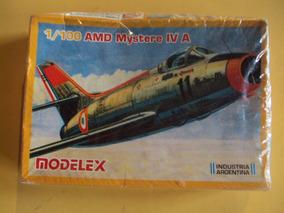 Amd Mystere Iv A Maqueta Para Armar De Avión (1/100) Modelex
