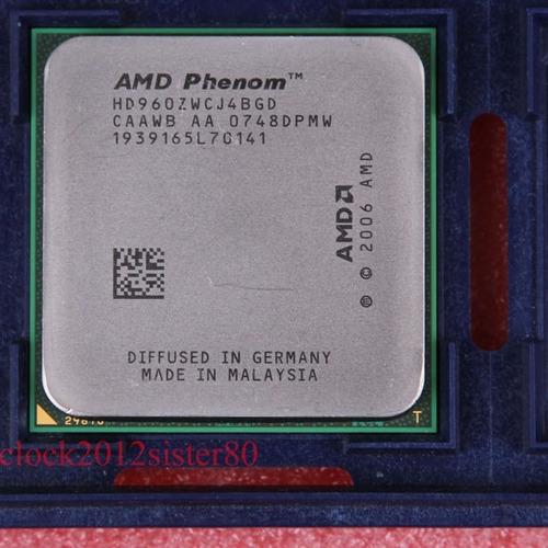 amd x4 phenom 9600 quad core black edition. envio td.brasil