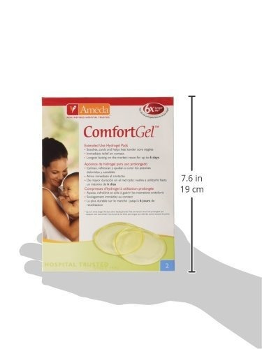 ameda comfortgel hydrogel pads, proporciona