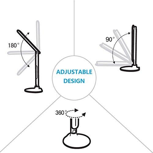 amemo de escritorio plegable del led de la lámpara / lámpar