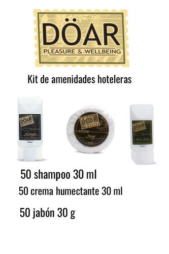 amenidades hoteleras 150 pzas incluye envío doar