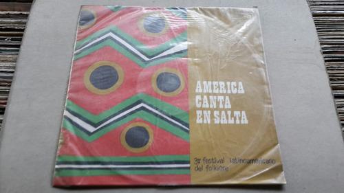 américa canta en salta