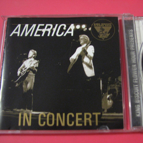 america in concert cd king biscuit importado