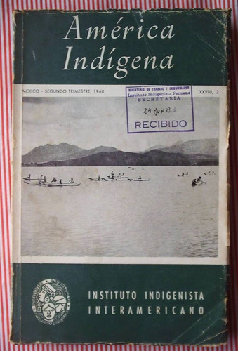 america indigena 1968