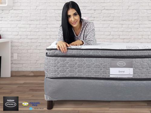 américa individual colchón