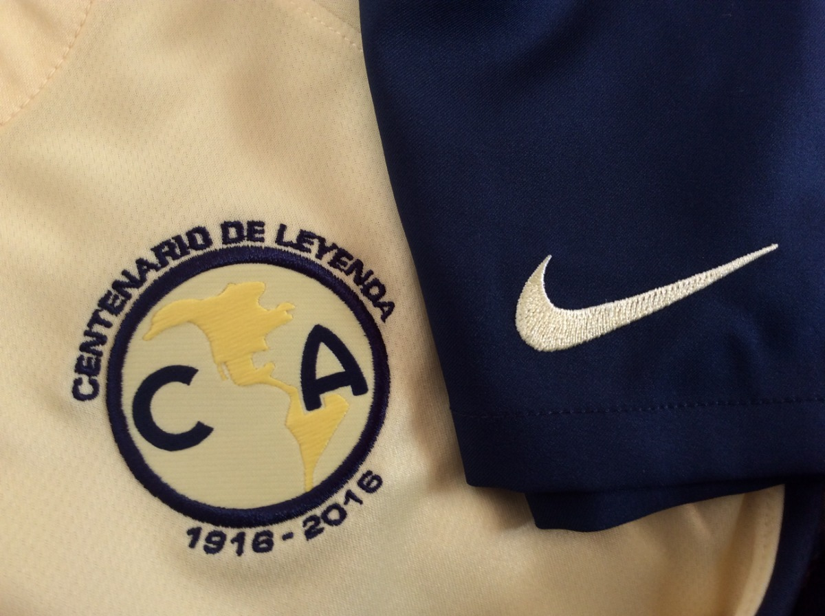 e27ea825329b8 Conjunto Kit Club América Niño Jersey + Short Nike 100 Años ...