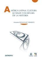 américa latina cultura letrada, mendieta, anthropos #