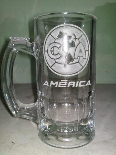 america tarro cervecero grabado!!!