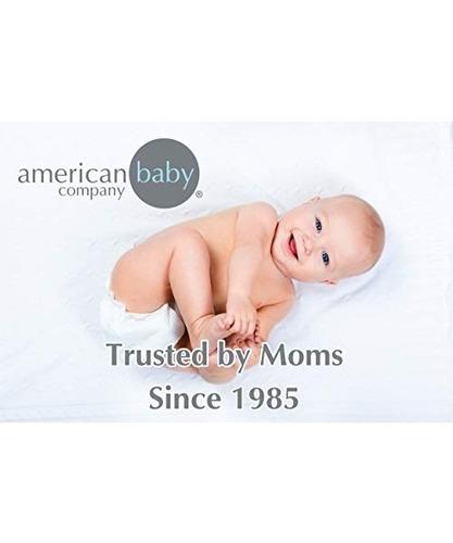 american baby company 100% algodón suprema jersey punto s