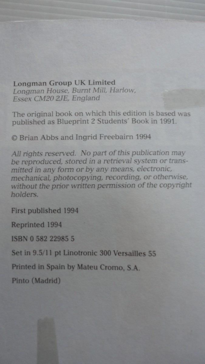 American blueprint 2 student book longman 15000 en mercado libre american blueprint 2 student book longman cargando zoom malvernweather Image collections