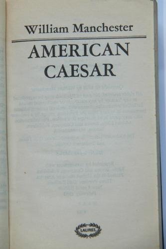 american caesar douglas macarthur libro en inglés