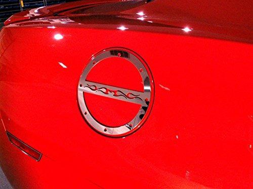 american car craft chevrolet camaro  cromo de cromo de llam