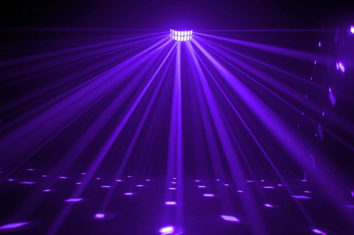 american dj aggressor hex led luz discoteca audioritmica