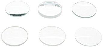 american educational 6 piezas lente de cristal conjunto