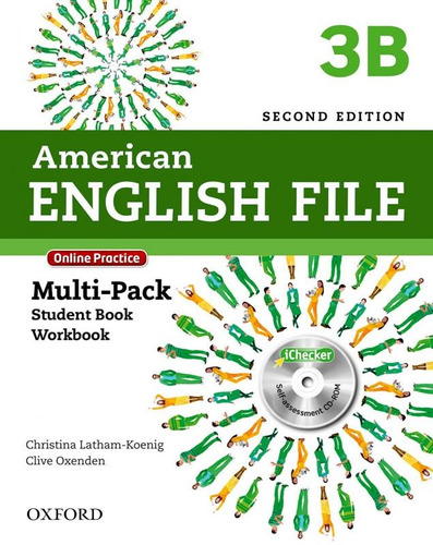 american english file 3b - multi pack with online practice a