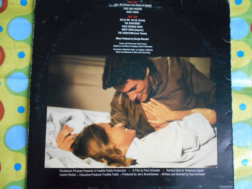 american gigolo  lp original soundtrack