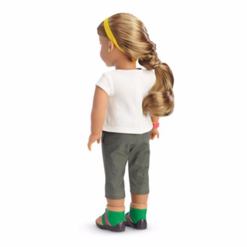 american girl - lea clark - lea's rainforest hike outfit