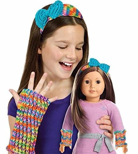 american girl texters and headband knitting kit