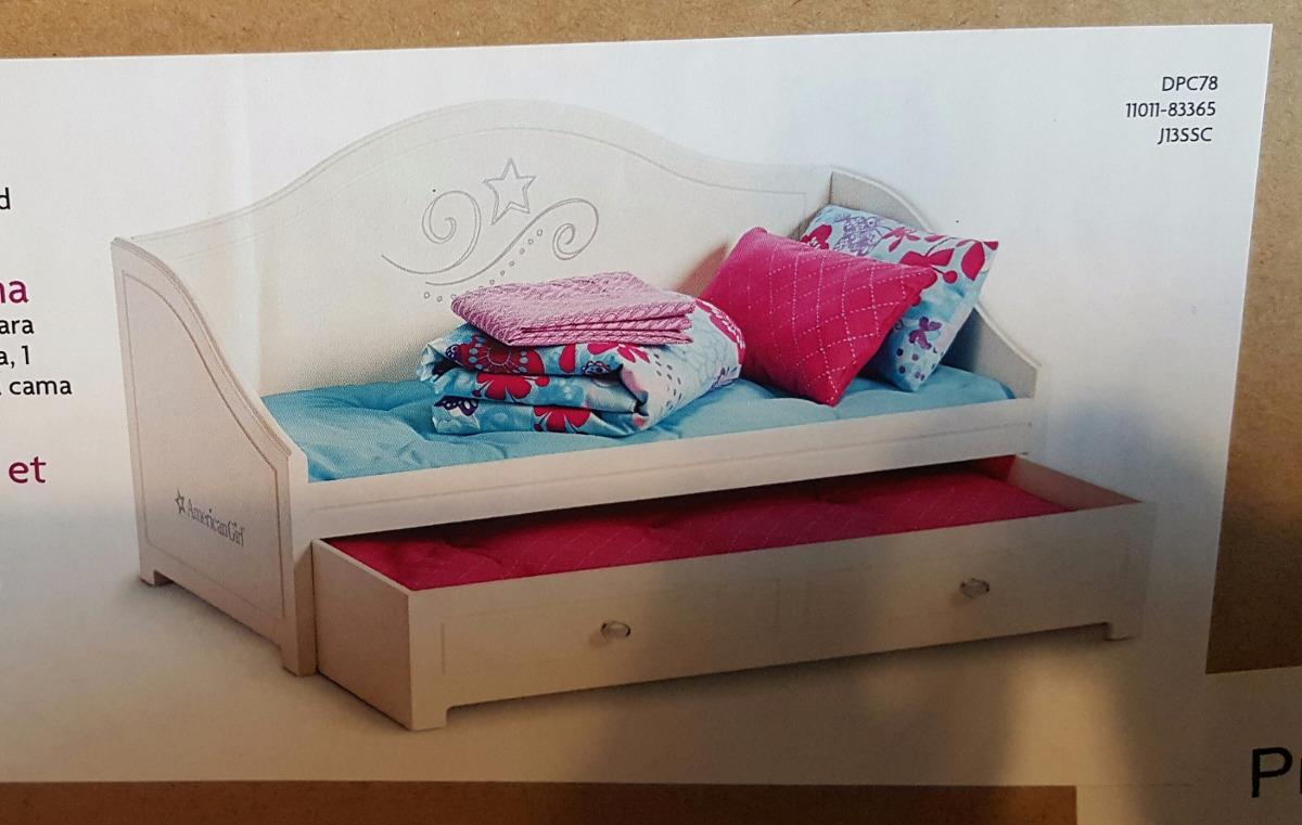 American girl truly me cama doble blanca y ropa de cama - Ropa de cama original ...