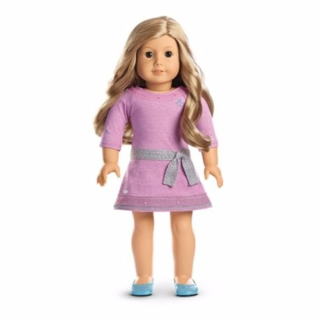 american girl - truly me doll: light skin, freckles, blond
