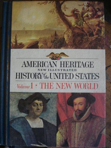 american heritage history united states 5 vols frete grátis
