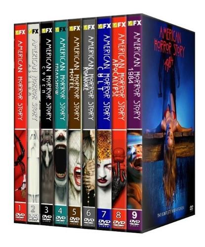 american horror story, dvd,latino