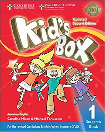 american kid's box 1 - student's book updated - 2nd edition