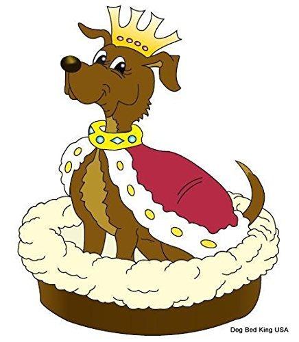 american made 40 \perro xl cama king ee.uu. cuddler marrón