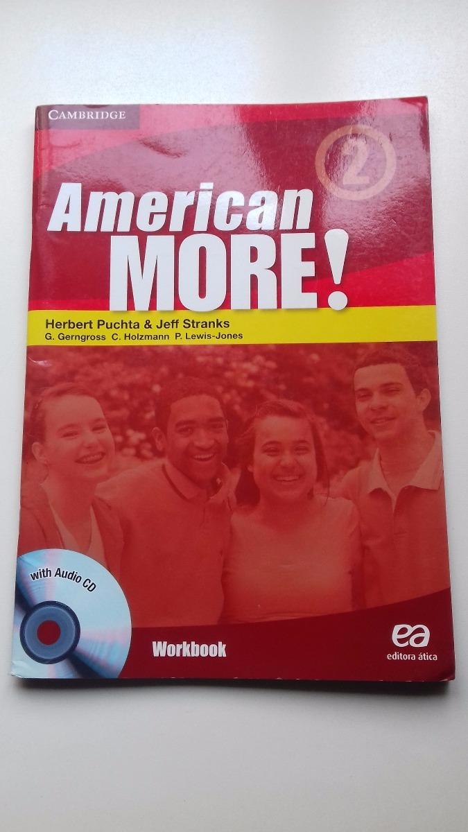 Workbooks workbook com : American More Livro 2 - Workbook - Com O Cd - R$ 10,00 em Mercado ...
