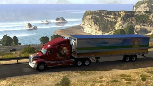 american truck simulator 2020 + 24 dlcs  pc