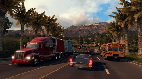 american truck simulator pc full español