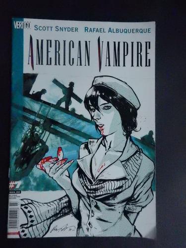 american vampire #7 - vertigo