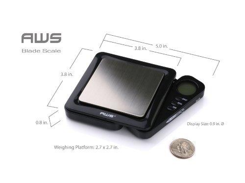 american weigh scales black blade series bl100blk digital po