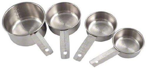 americana metalurgia mcl4 4-pack de acero inoxidable taza d