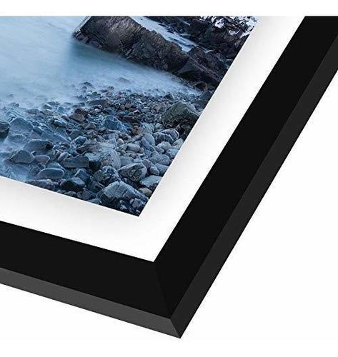 Americanflat Black Floating Frames