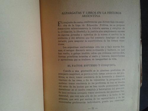 américo ghioldi alpargatas y libros historia argentina