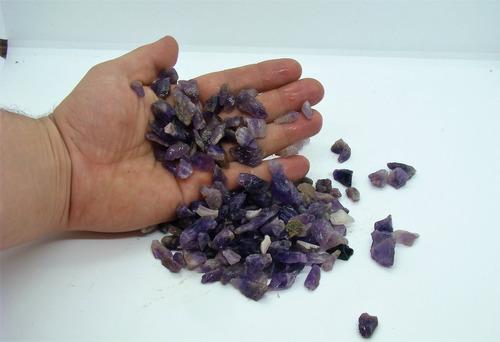 ametista cristal pedra bruta natural ideal p/ orgonite 1kg
