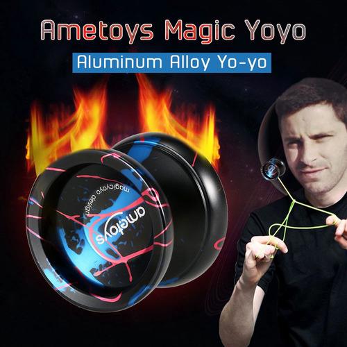 ametoys v4 profesional magic yoyo aleación de aluminio de al