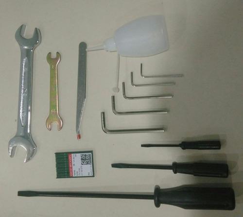 ametralladora 2 agujas camisera typical gk397 con puller !!!